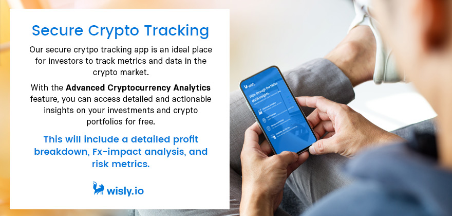 Secure Crypto Tracking - Wisly Analytics Crypto Portfolio App