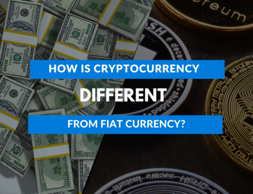 How is cryptocurrency different from fiat currency?